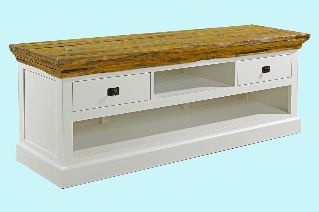 old teak tv low the design project. Black Bedroom Furniture Sets. Home Design Ideas